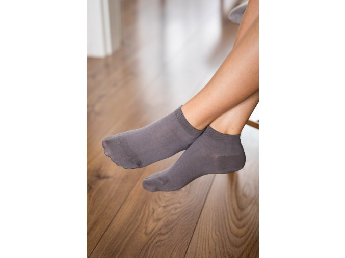 2183 3 barefoot ponozky kratke sede