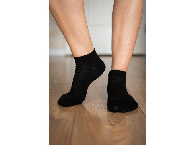 2174 1 barefoot ponozky kratke cerne