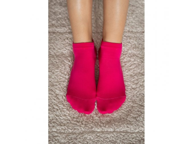 barefoot ponozky kratke ruzove be lenka 4