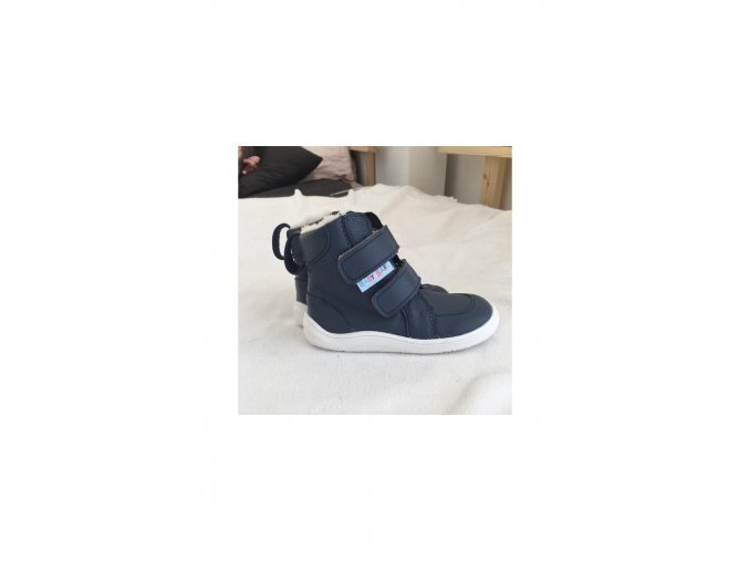 Baby Bare Shoes - Febo Winter Navy