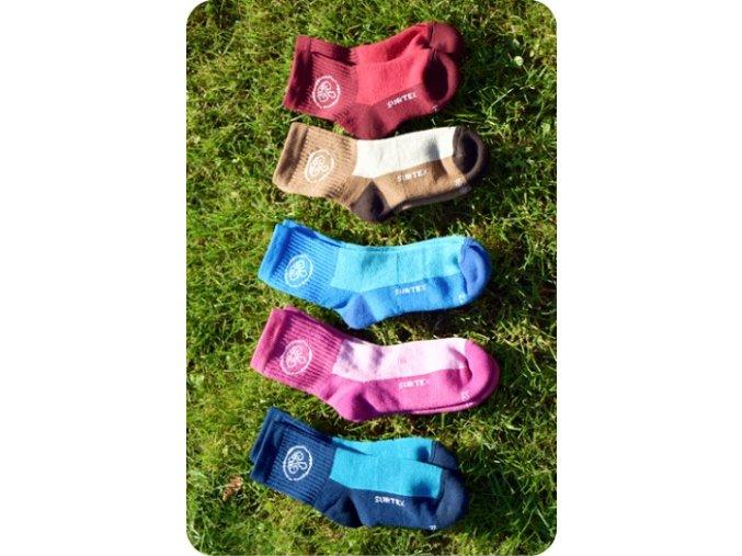 Ponožky Aerobic 80% (volný lem pro děti), Surtex
