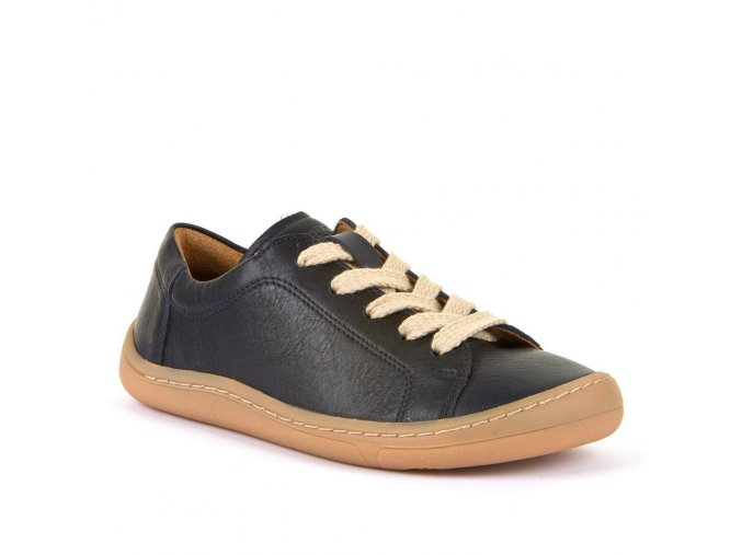 Barefoot nízké tenisky na tkaničku DARK BLUE, Froddo