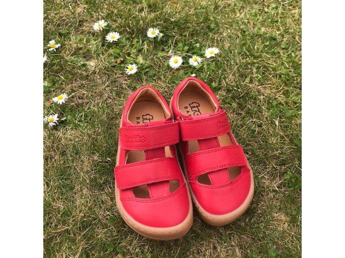 Barefoot sandále RED, Froddo