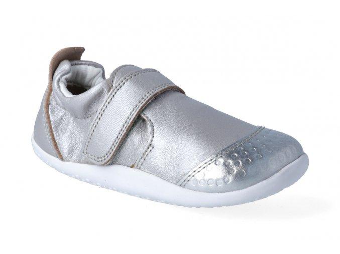 Barefoot capáčky Bobux XPLORER - Go Silver, Bobux
