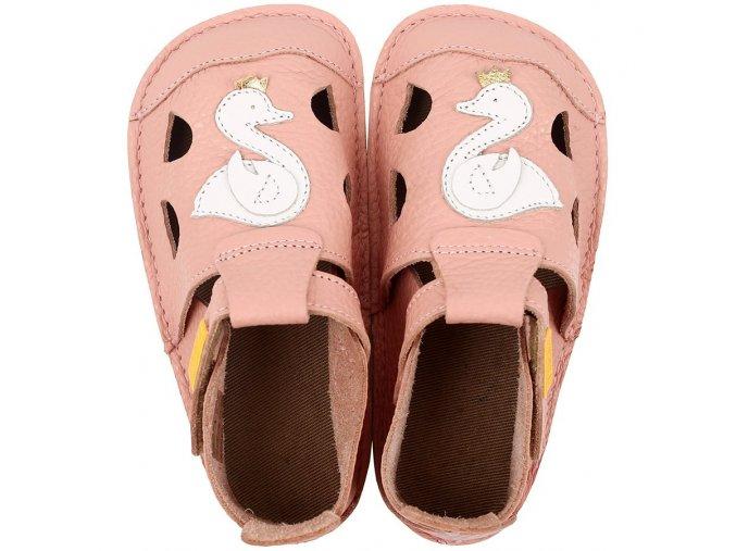 leather barefoot sandals nido sara 18099 4