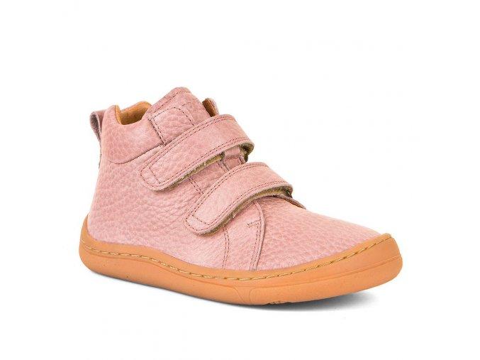 Barefoot kotníčkové boty HIGH TOPS - Pink, Froddo