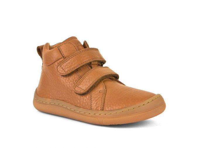 Barefoot kotníčkové boty HIGH TOPS - Cognac, Froddo