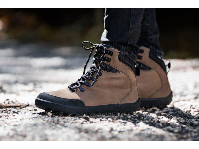 zimne barefoot topanky be lenka ranger dark brown 1 23557 size large v 1