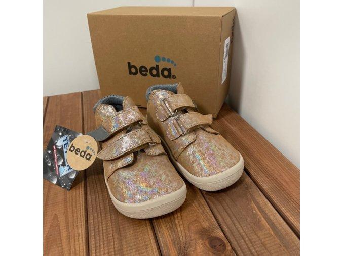 Kotníkové boty s membránou (model 2) - Bella, Beda Barefoot