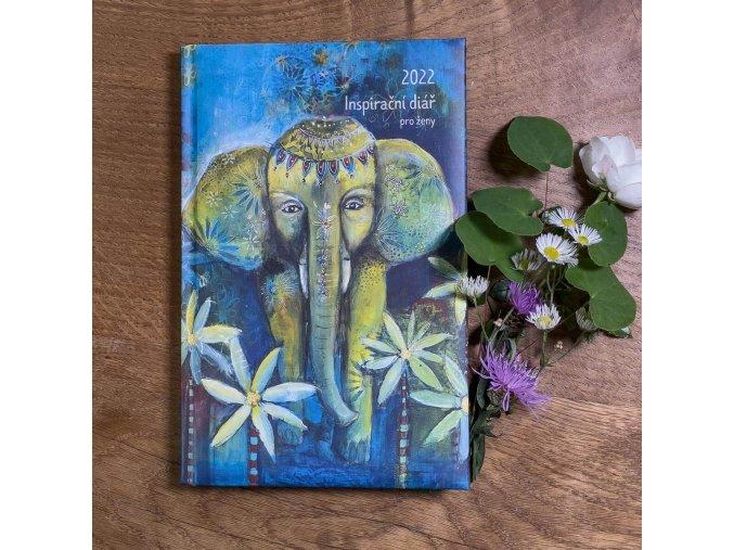 inspiracni diar 2022 slon