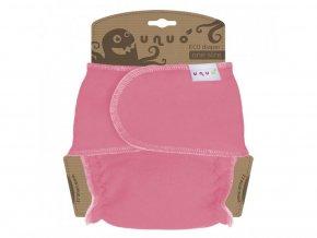 Novorozenecká chobotová plena - růžová, Unuo (2. jakost, vybledlý pruh)