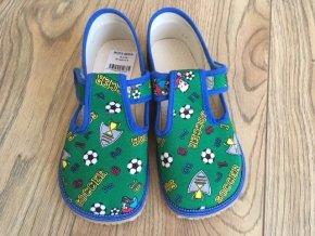 Bačkůrky - zelený fotbal, Boty Beda