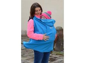 Nosící kapsa (softshell) - modrá, Kibi