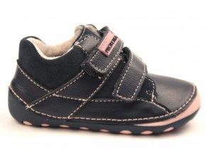 Celoroční kožené zateplené boty NED PINK, Protetika