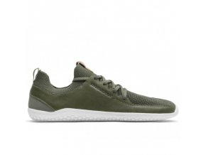 PRIMUS KNIT L Olive Green Leather, Vivobarefoot