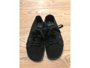 Konopné barefoot tenisky HOSKA PLUS Black-Black, Bohempia