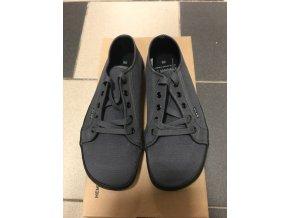 Konopné barefoot tenisky HOSKA Dark Grey-Black, Bohempia