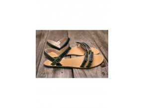 Barefoot sandále Lenka Summer - Black, Be Lenka