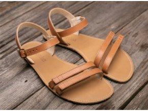 Barefoot sandále Lenka Summer - Brown, Be Lenka