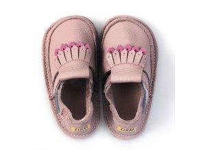 Kožené barefoot boty Juliette - podrážka 3 mm, Tikki shoes