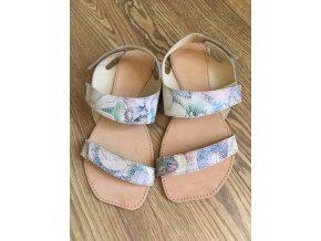 Barefoot sandále Orto+ BORA - pestrá