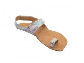 Barefoot sandále Orto+ DIONE - pestrá