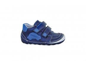 Celoroční kožené boty LEVIS blue, Protetika