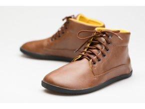 Bare Ankle Lifo+ Světle Hnědá, Ahinsa shoes