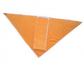 Trojhránek bambus - oranžový, LILLYBE