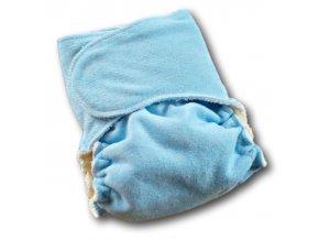 Kalhotková plena na snappi sponku - modrá, LILLYBE