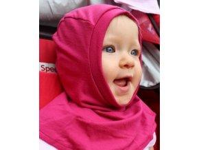 Dětská kukla merino - růžová, Adelay