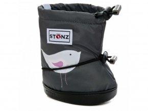 STONZ BOOTIES TODDLER - Bird Grey, STONZ