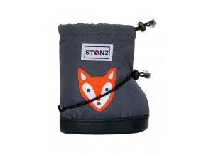 STONZ BOOTIES TODDLER - Fox Grey, STONZ