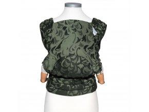 New Size: Fidella Fly Tai - Mei Tai Classic - Wolf - schilfgrün