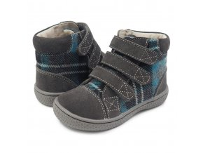 Jamie Gray Plaid - Textile/Leather, Livie and Luca EU