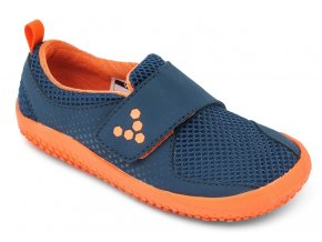 PRIMUS MINI K Mesh Navy/Orange, Vivobarefoot