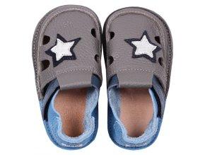 Sandálky Starlit sky - podrážka 2 mm, Tikki shoes
