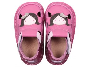 Sandálky A little friend - podrážka 2 mm, Tikki shoes
