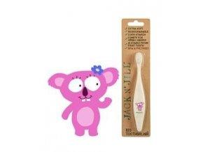 Dětský zubní kartáček Jack n' Jill - Koala