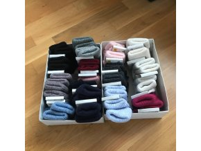 Dětské vlněné ponožky - velikost 3 (23-25), Diba
