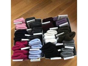 Dětské vlněné ponožky - velikost 5 (26-28), Diba