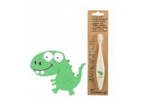 Dětský zubní kartáček Jack n' Jill - Dino