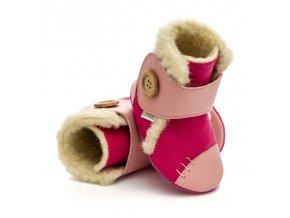 Zimní botičky Liliputi - Hibiskus, Liliputi®