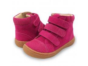 JAMIE Magenta Sparkle - High-Top Sneaker, Livie and Luca EU