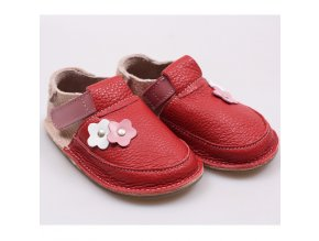 Kožené barefoot boty Lollipop - podrážka 3 mm, Tikki shoes