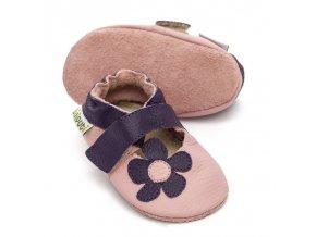 liliputi soft baby sandals lilac 3010