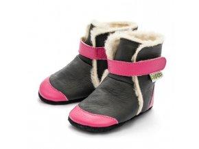 Zimní botičky Liliputi - Eskimo black, Liliputi®