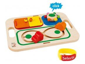 Tavolina - hřiště pro nejmenší, Selecta Spielzeug