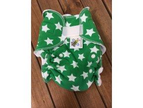Kalhotková plenka na SZ - Hvězdy na zelené, Majab