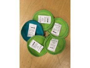 Odličovací tampony - Bavlněný plyš (1 pár), KatyvBaby